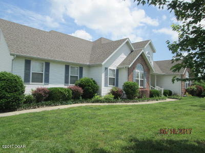 Carthage MO Single Family Home Sold: $225,000