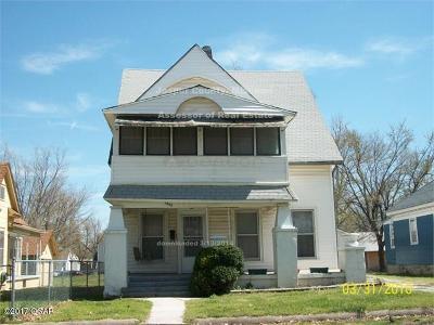 Jasper County Single Family Home For Sale: 1723 S Jackson Avenue