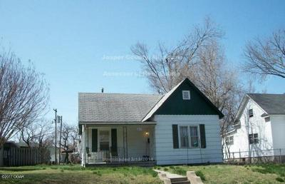 Jasper County Single Family Home For Sale: 1816 Murphy Avenue