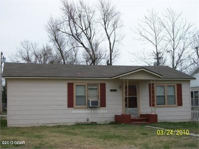 Jasper County Single Family Home For Sale: 1605 S McKinley Avenue