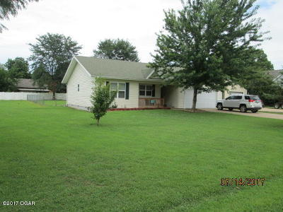 McDonald County Single Family Home For Sale: 127 Riverview Drive