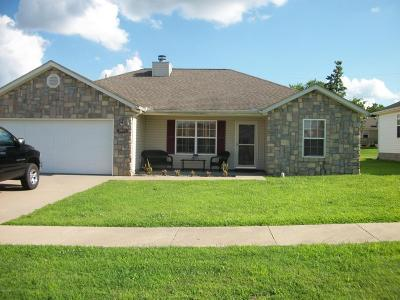 Jasper County Single Family Home For Sale: 1006 E Cottenwood Street