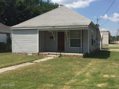 Webb City Single Family Home For Sale: 1201 W 7th