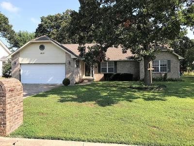 Joplin MO Single Family Home For Sale: $124,900