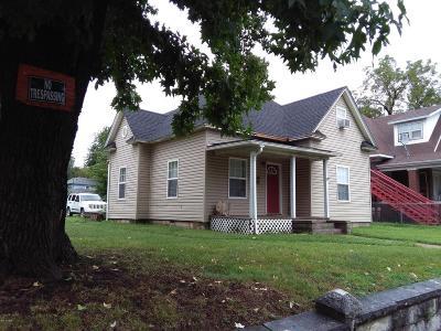 Jasper County Single Family Home For Sale: 814 Chestnut Avenue