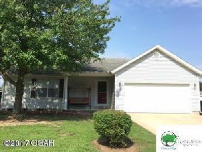 Webb City Single Family Home For Sale: 2036 Bluebird