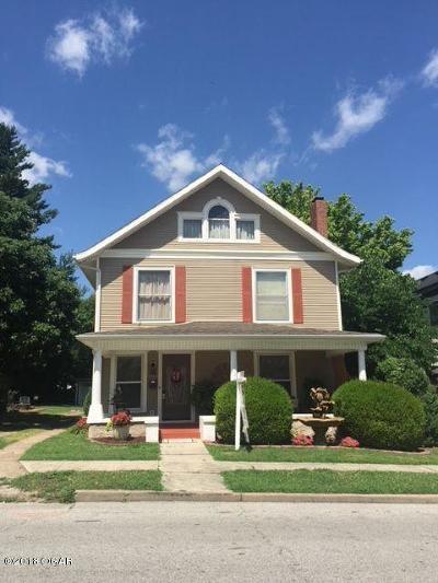 Neosho Single Family Home For Sale: 112 N High Street