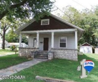 Neosho MO Single Family Home For Sale: $24,200