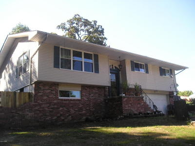 Joplin MO Single Family Home For Sale: $129,900