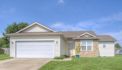 Carthage MO Single Family Home For Sale: $119,900