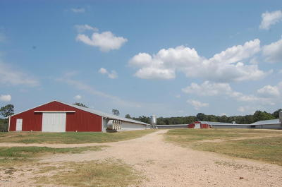 McDonald County Farm & Ranch For Sale: 4021/4031 Pump Station Road