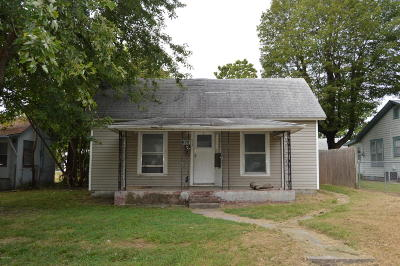 Jasper County Single Family Home For Sale: 828 Murphy Avenue