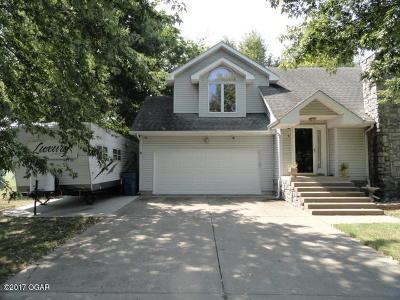 Joplin MO Single Family Home For Sale: $149,900