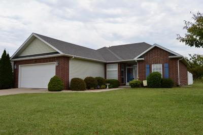 Webb City Single Family Home For Sale: 1625 Brewster Lane