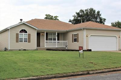 Jasper County Single Family Home For Sale: 1843 Cleveland Terrace