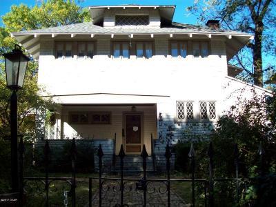 Joplin MO Single Family Home For Sale: $147,000