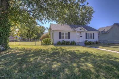 Webb City Single Family Home For Sale: 820 W Daugherty Street