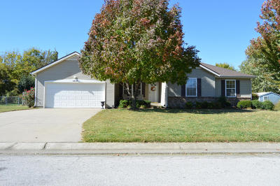 Webb City Single Family Home For Sale: 1414 Gold Dust Drive