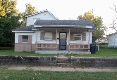Jasper County Single Family Home For Sale: 724 W Austin