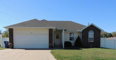 Webb City Single Family Home For Sale: 203 Brooke Street