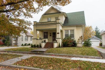 Jasper County Single Family Home For Sale: 1712 Bird Avenue