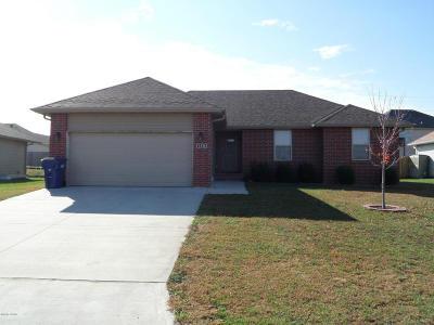 Jasper County Rental For Rent: 1326 Matthew Circle