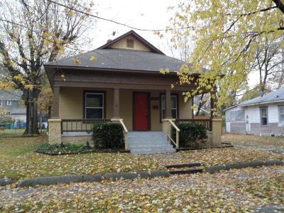 Jasper County Single Family Home For Sale: 1821 S Porter Avenue