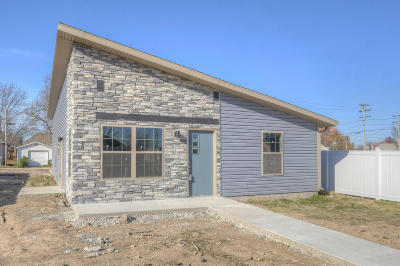 Jasper County Single Family Home For Sale: 2012 S Wall