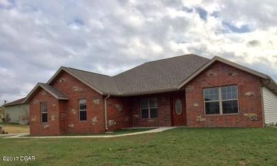 Joplin Single Family Home For Sale: 2502 W 29th Street