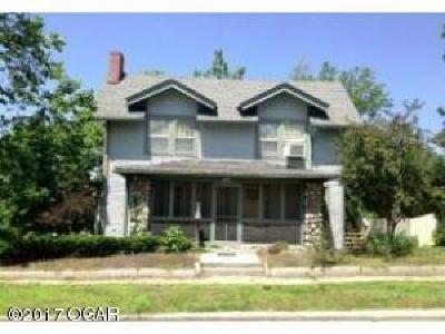 Joplin Single Family Home For Sale: 702 N Sergeant Avenue