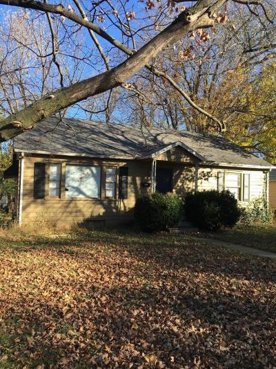 Carthage MO Single Family Home For Sale: $68,000
