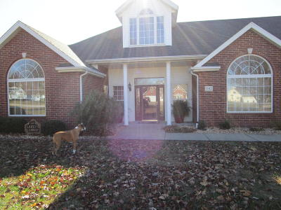 Carthage Single Family Home For Sale: 2012 Amber Lane