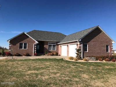Neosho Single Family Home For Sale: 10832 Hammer Road