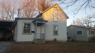 Jasper County Single Family Home For Sale: 1320 Oronogo Street