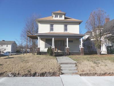 Joplin Single Family Home For Sale: 1622 S Joplin Avenue