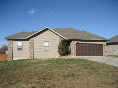 Joplin Single Family Home For Sale: 2605 E Sadie Court