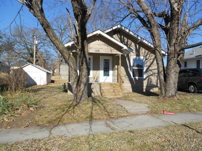 Joplin Single Family Home For Sale: 1419 E Valley