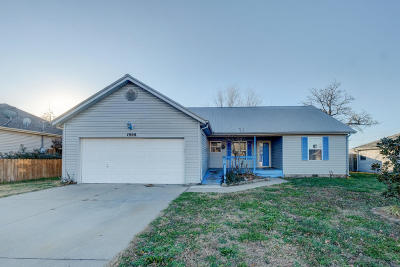 Joplin Single Family Home For Sale: 1908 S Cleveland Court