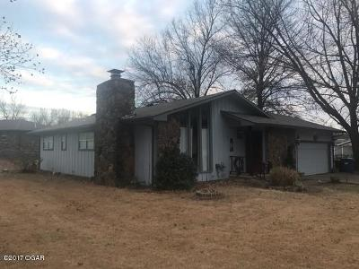 Joplin Single Family Home For Sale: 1201 Starlite Drive