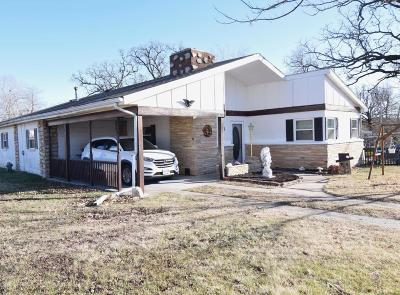 Newton County Single Family Home For Sale: 3301 Wisconsin