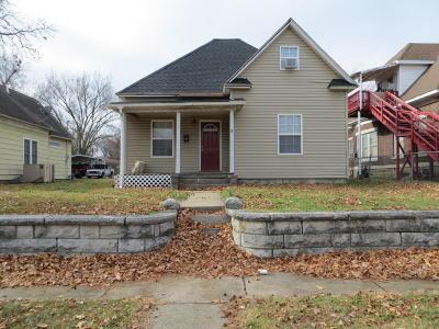 Jasper County Single Family Home For Sale: 814 Chestnut