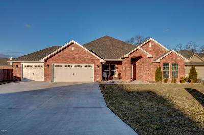 Webb City Single Family Home Active With Contingencies: 1512 Anderson Drive