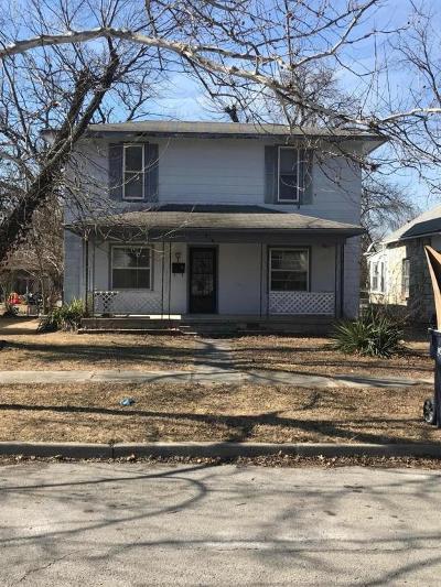 Webb City Single Family Home For Sale: 218 S Ball Street