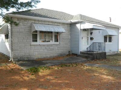 Joplin MO Single Family Home For Sale: $72,500