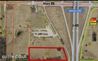 Barry County, Barton County, Dade County, Greene County, Jasper County, Lawrence County, McDonald County, Newton County, Stone County Residential Lots & Land For Sale: Xxxx Inca Lane