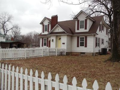 Carthage MO Single Family Home For Sale: $137,900