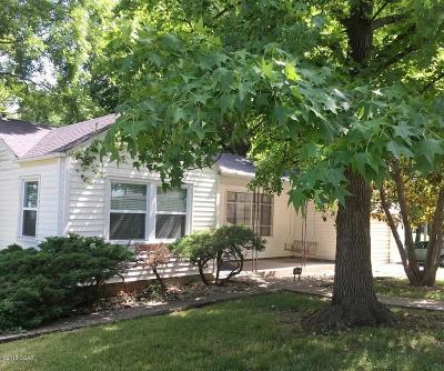 Carthage Single Family Home For Sale: 601 E 14th Street