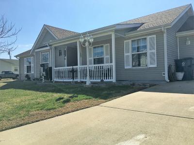 Webb City Single Family Home For Sale: 1882 Sandy Lane