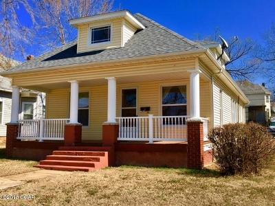 Joplin MO Single Family Home For Sale: $67,900