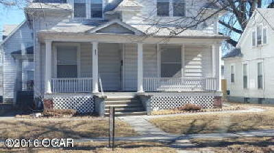 Barry County, Barton County, Dade County, Greene County, Jasper County, Lawrence County, McDonald County, Newton County, Stone County Rental For Rent: 601 S Sergeant